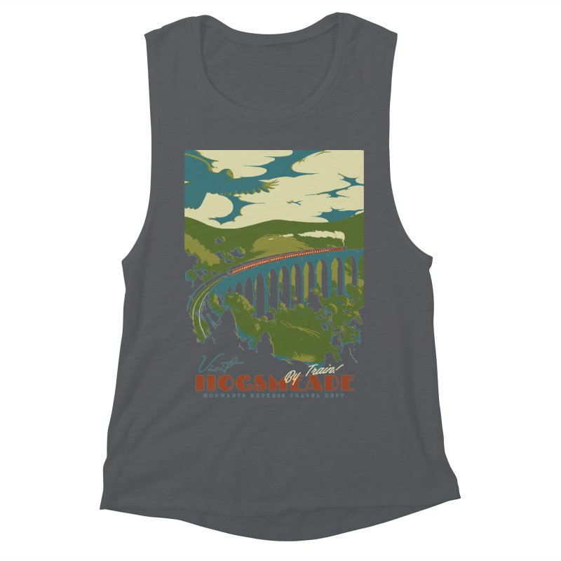 Visit Hogsmead Women's Muscle Tank by mathiole