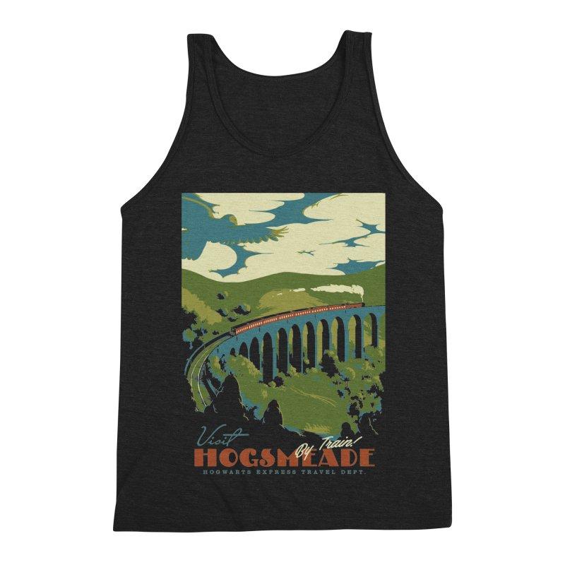 Visit Hogsmead Men's Triblend Tank by mathiole