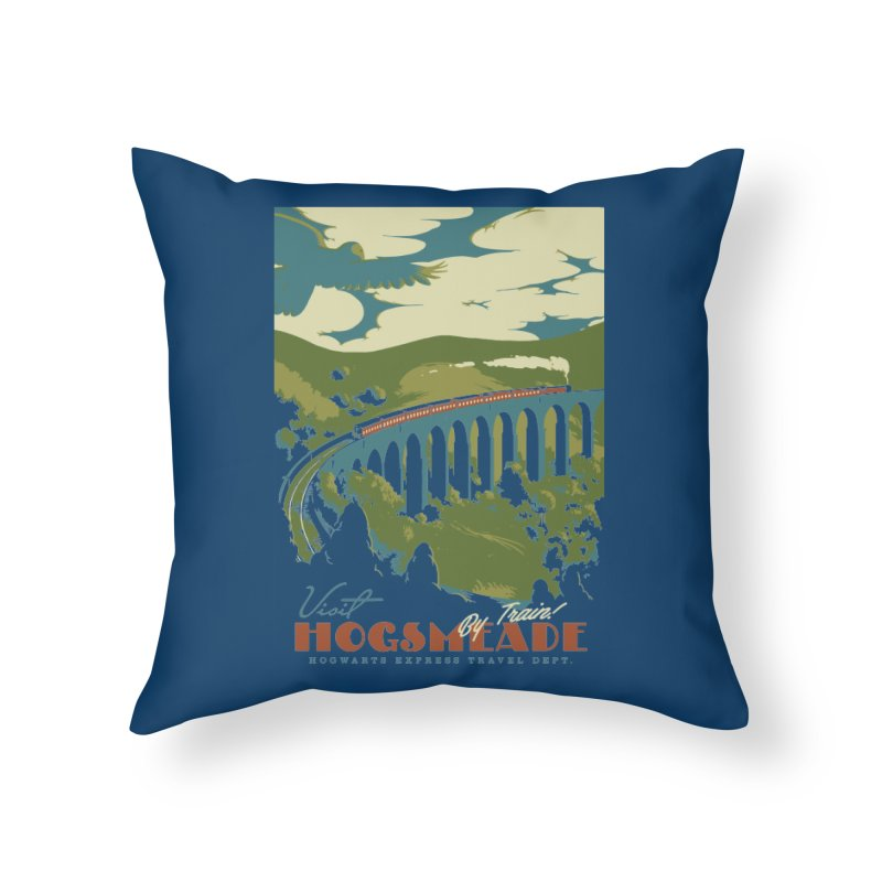 Visit Hogsmead Home Throw Pillow by mathiole