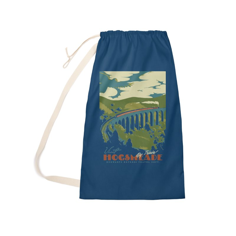 Visit Hogsmead Accessories Laundry Bag Bag by mathiole