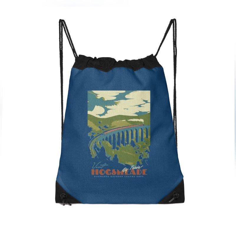 Visit Hogsmead Accessories Drawstring Bag Bag by mathiole