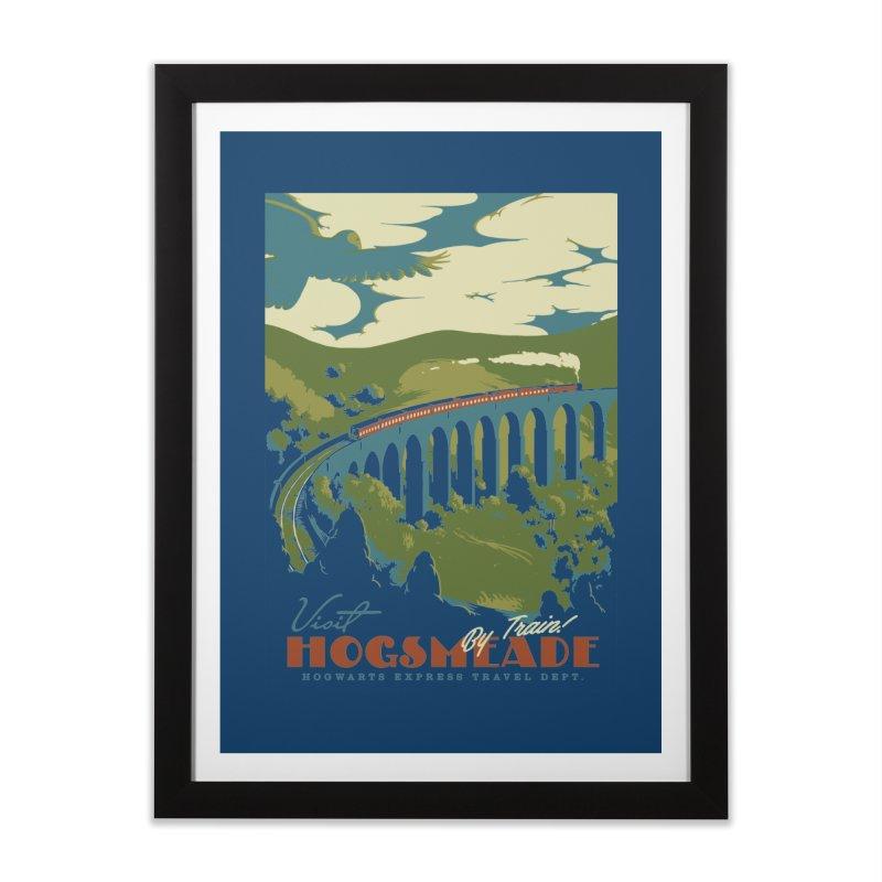 Visit Hogsmead Home Framed Fine Art Print by mathiole