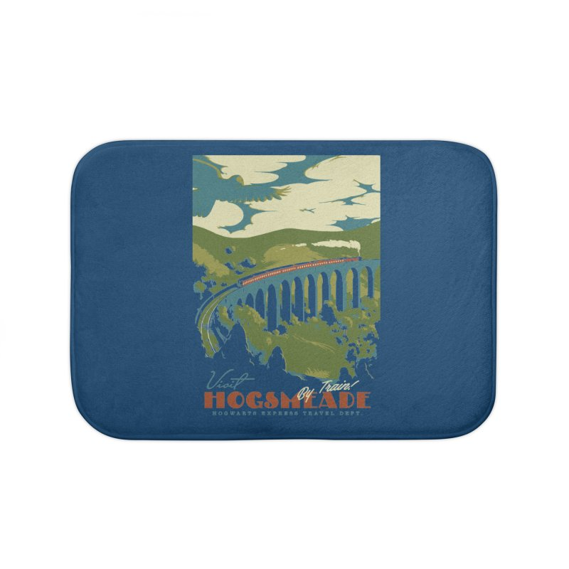 Visit Hogsmead Home Bath Mat by mathiole