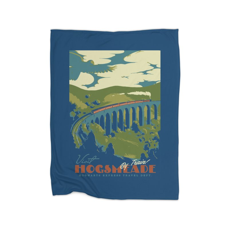 Visit Hogsmead Home Blanket by mathiole