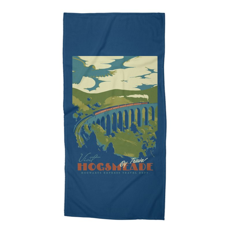 Visit Hogsmead Accessories Beach Towel by mathiole