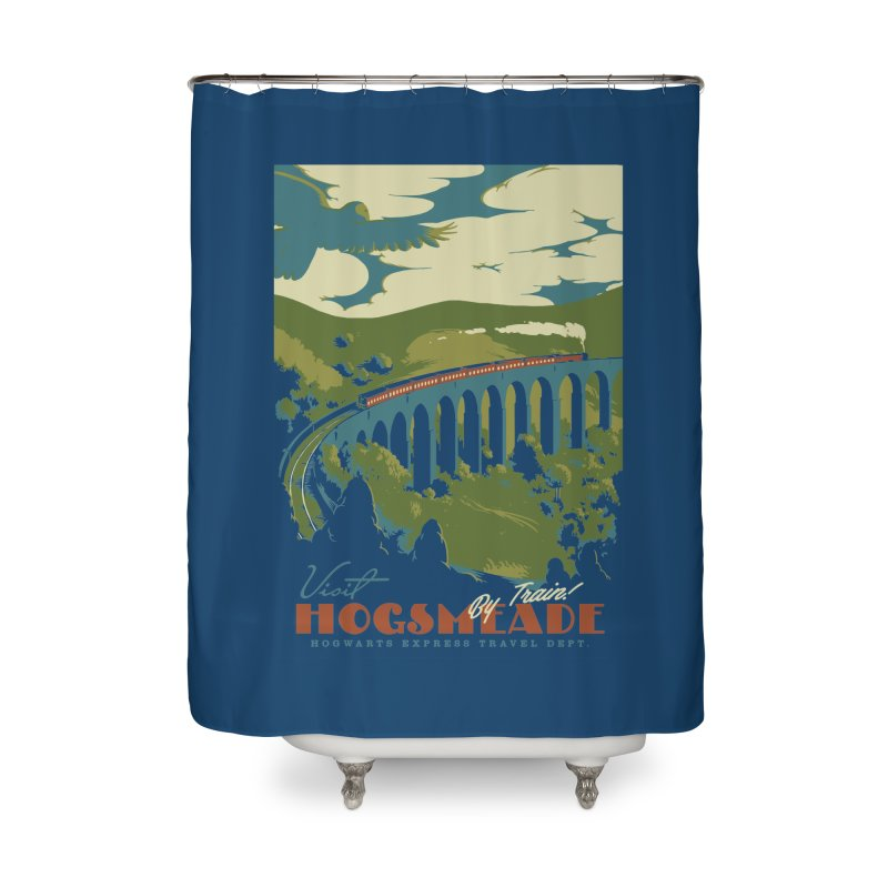 Visit Hogsmead Home Shower Curtain by mathiole