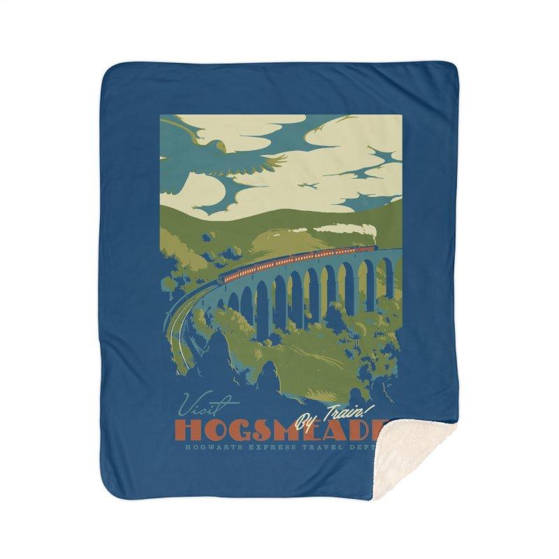 Visit Hogsmead Home Sherpa Blanket Blanket by mathiole