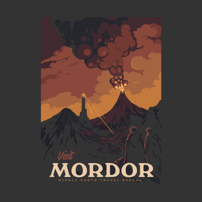 Visit Mordor by mathiole