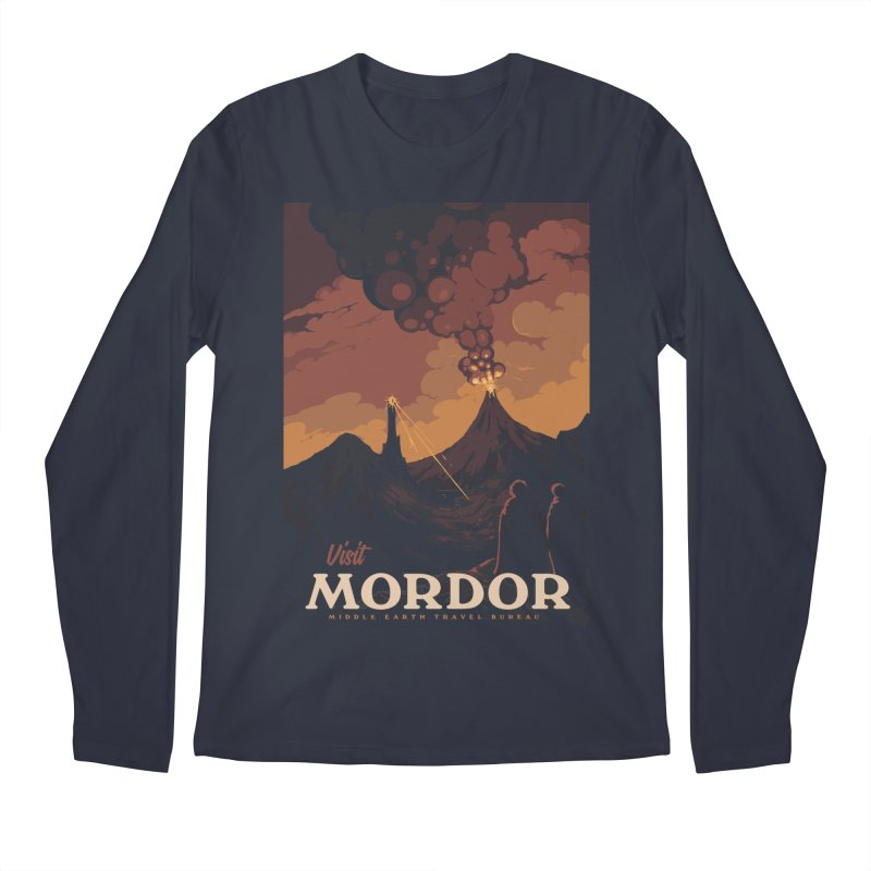 Visit Mordor Men's Regular Longsleeve T-Shirt by mathiole