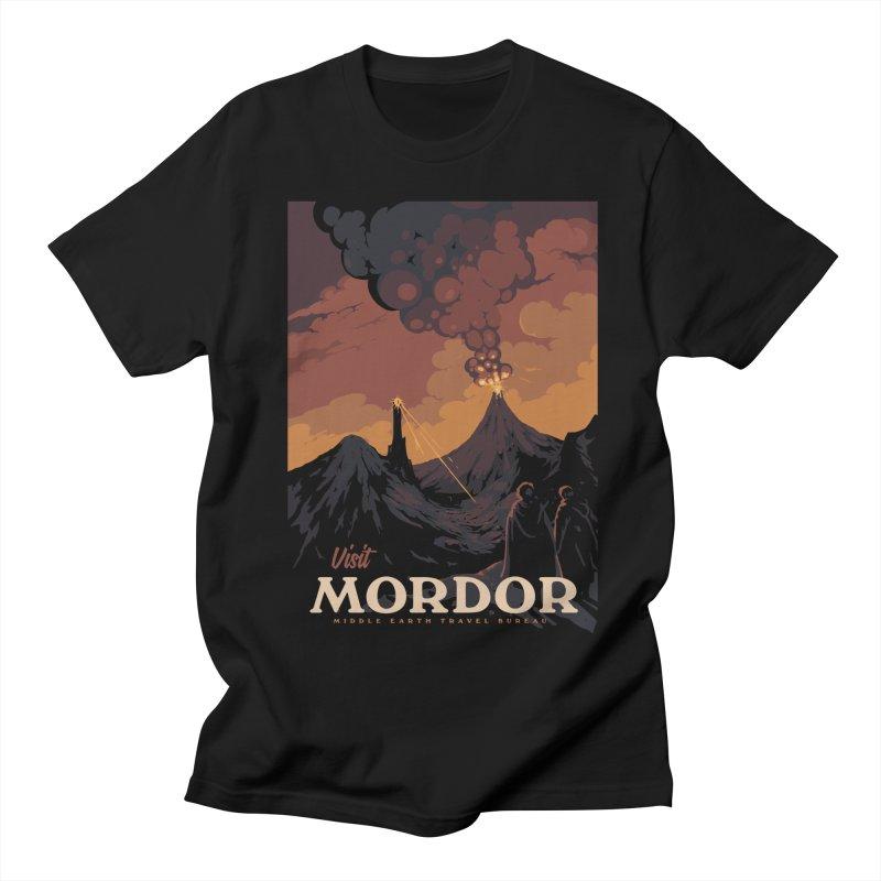 Visit Mordor Women's Regular Unisex T-Shirt by mathiole