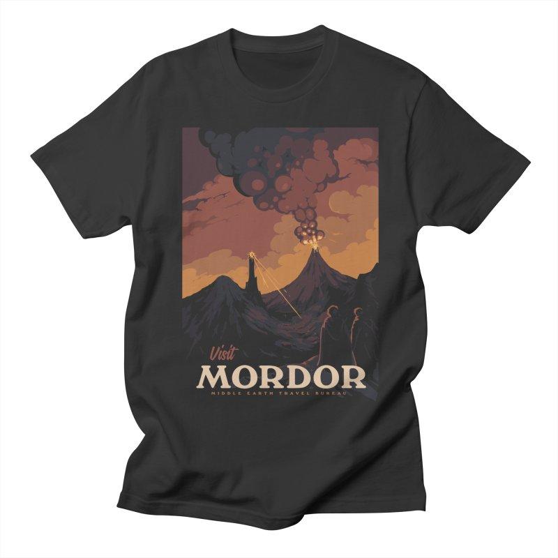 Visit Mordor Men's Regular T-Shirt by mathiole
