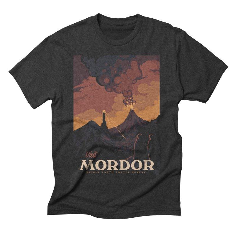 Visit Mordor Men's Triblend T-Shirt by mathiole
