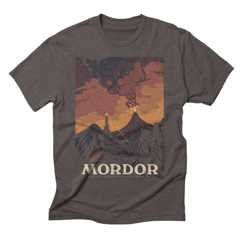 Visit Mordor Men's Triblend T-Shirt by mathiole