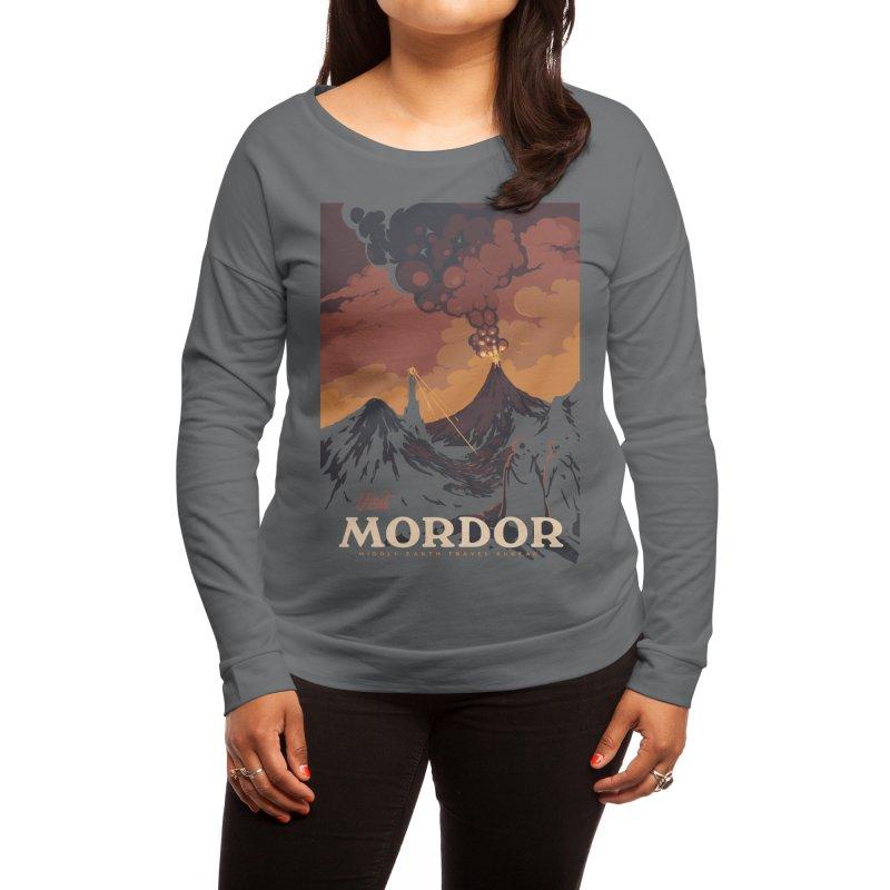 Visit Mordor Women's Longsleeve T-Shirt by mathiole