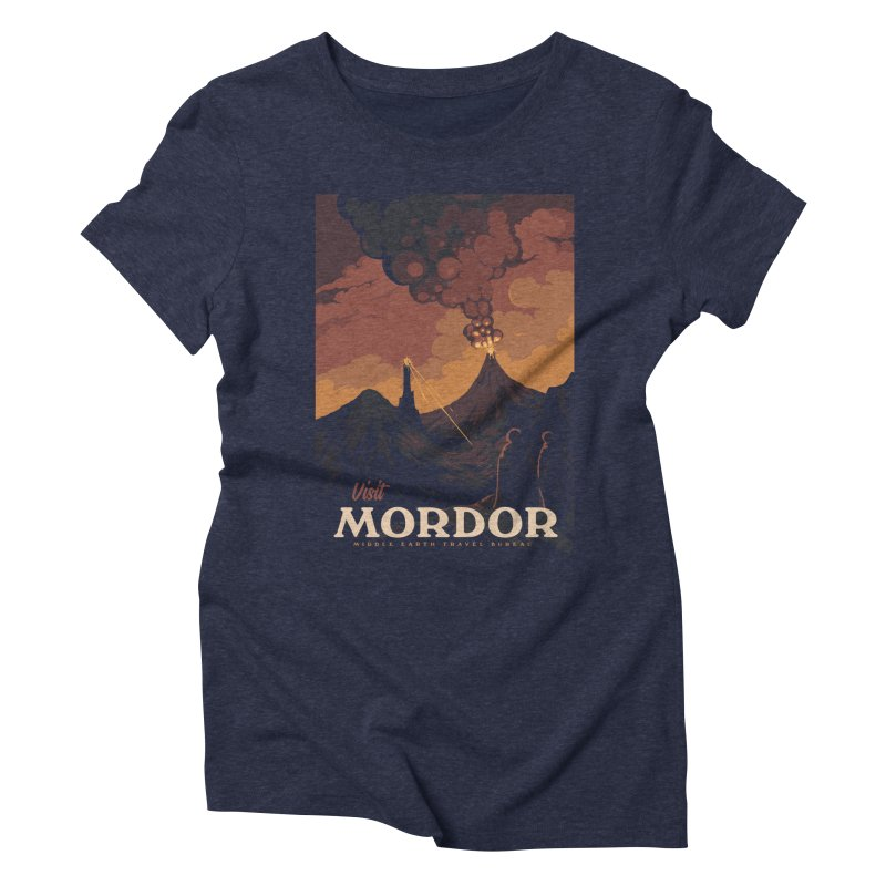 Visit Mordor Women's Triblend T-Shirt by mathiole