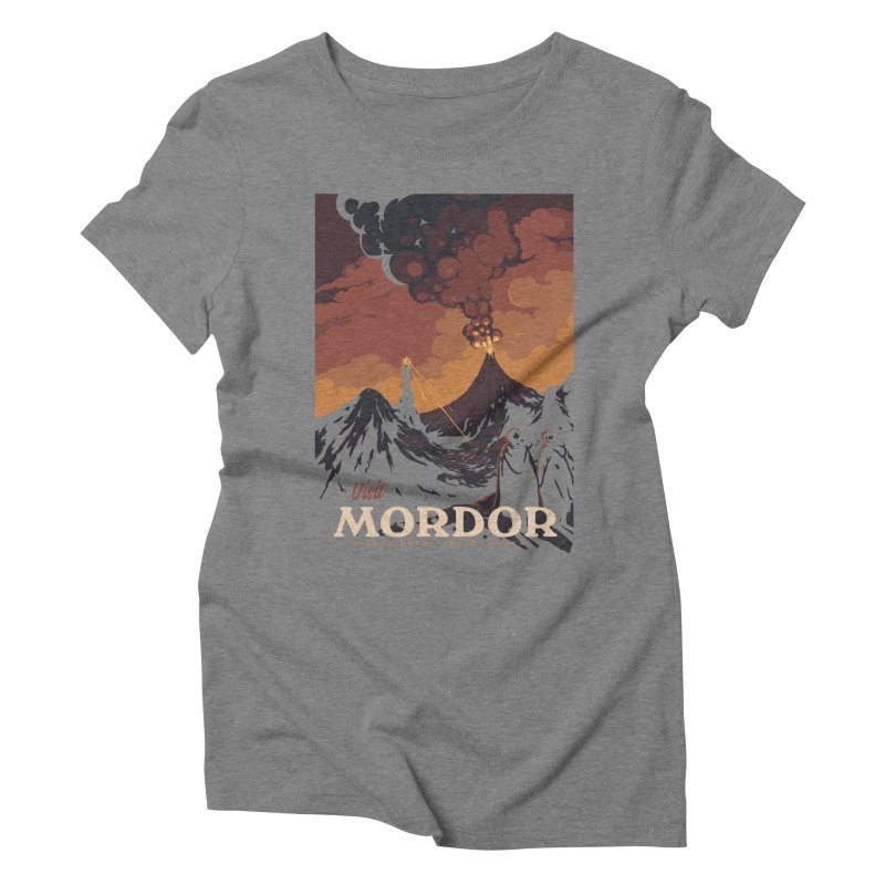 Visit Mordor Women's Triblend T-Shirt by mathiole