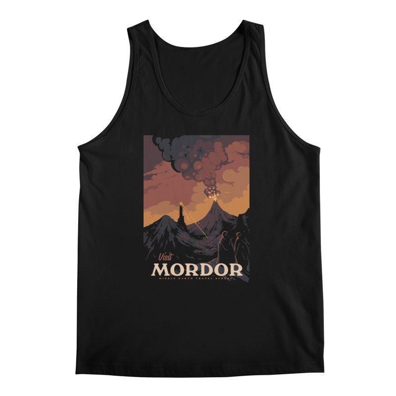 Visit Mordor Men's Regular Tank by mathiole