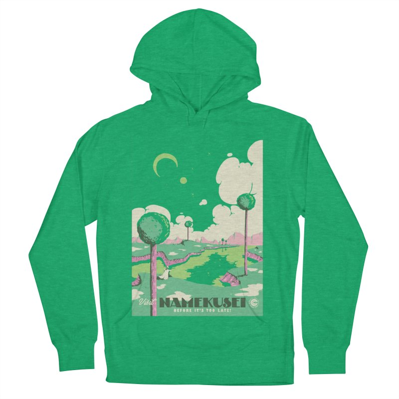 Visit Namekusei Men's French Terry Pullover Hoody by mathiole