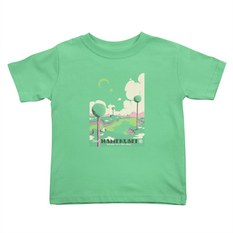 Visit Namekusei Kids Toddler T-Shirt by mathiole