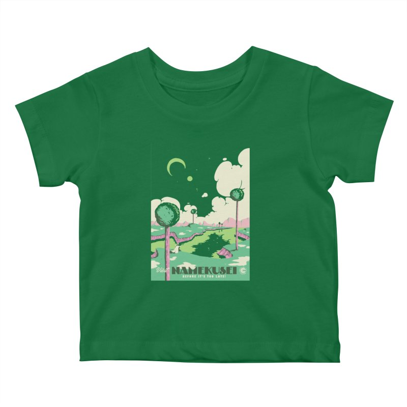Visit Namekusei Kids Baby T-Shirt by mathiole