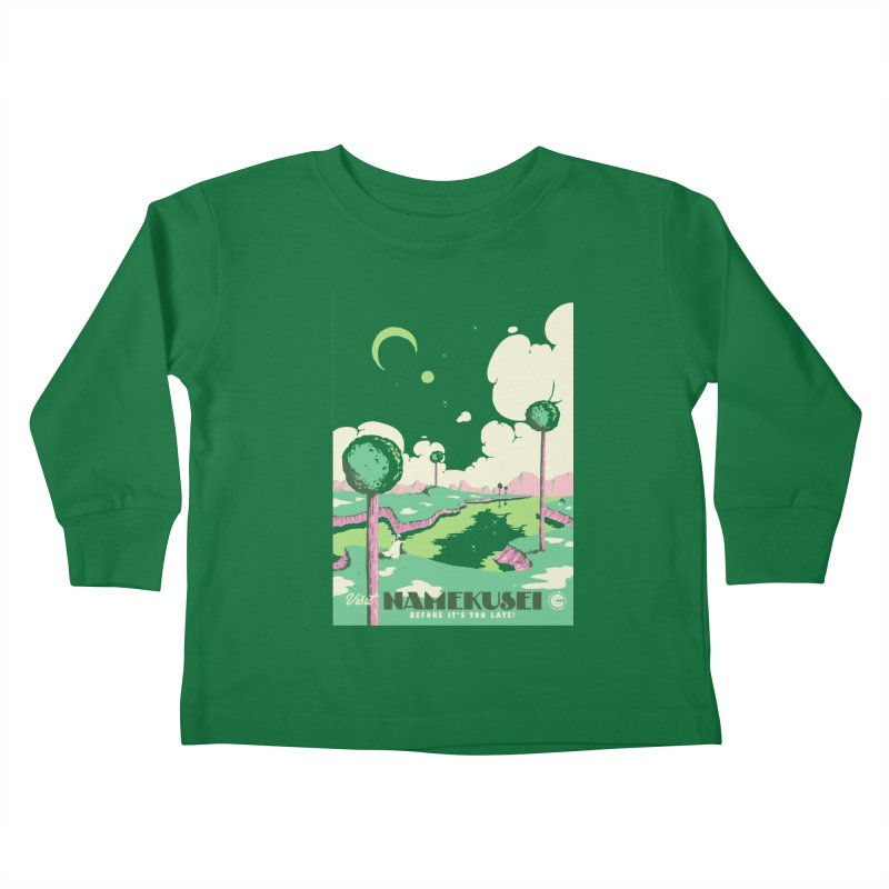 Visit Namekusei Kids Toddler Longsleeve T-Shirt by mathiole