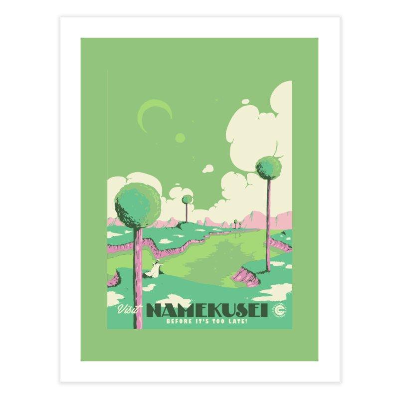 Visit Namekusei Home Fine Art Print by mathiole