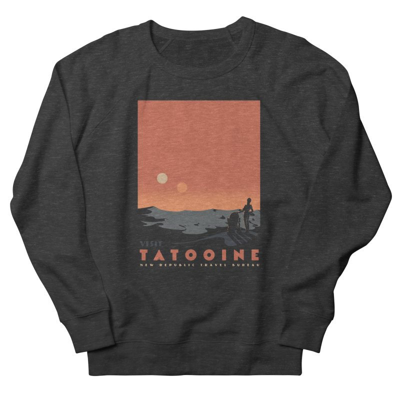 Visit Tatooine Women's French Terry Sweatshirt by mathiole