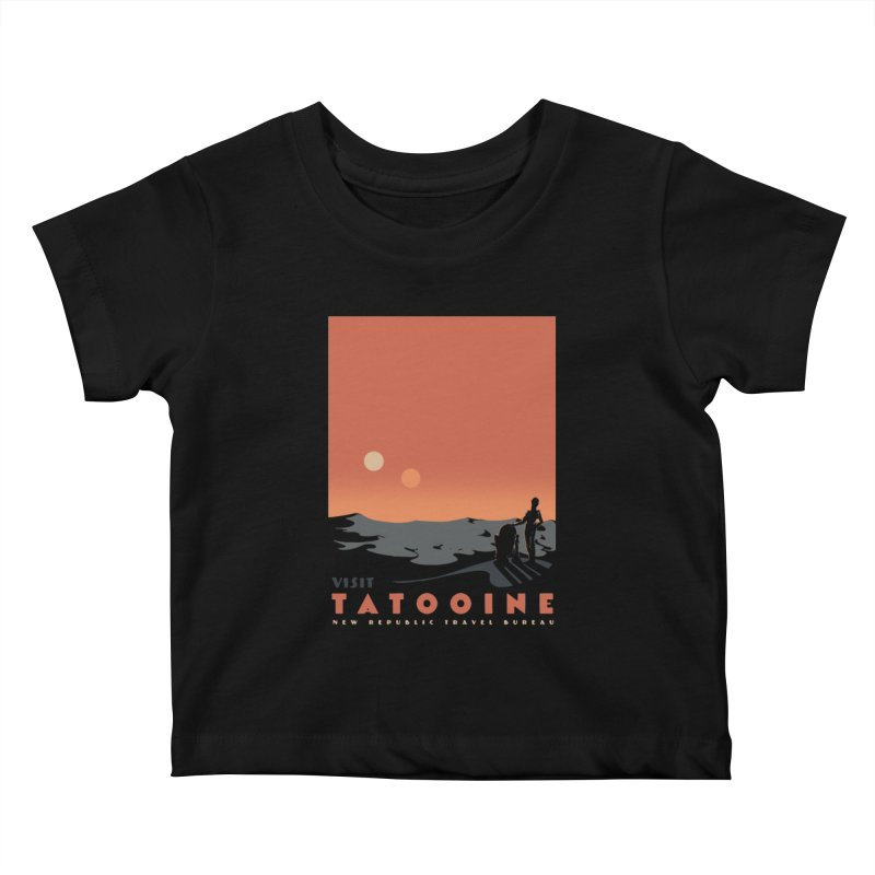Visit Tatooine Kids Baby T-Shirt by mathiole