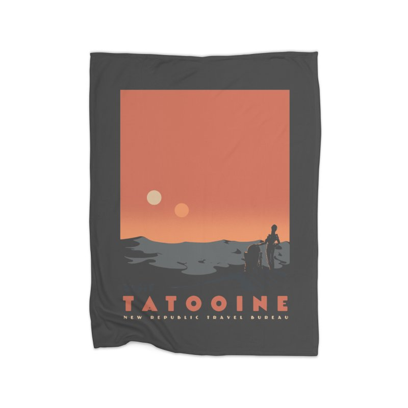Visit Tatooine Home Blanket by mathiole