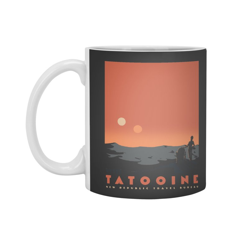 Visit Tatooine Accessories Mug by mathiole