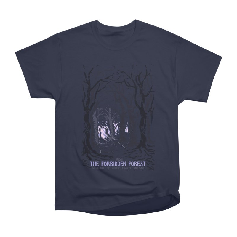 Visit The Forbidden Forest Men's Heavyweight T-Shirt by mathiole