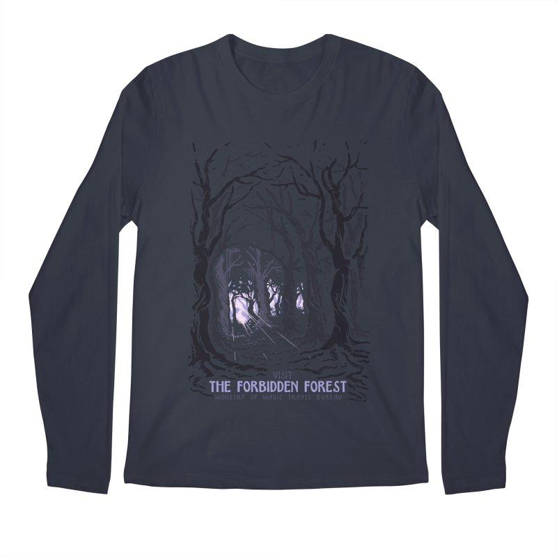 Visit The Forbidden Forest Men's Regular Longsleeve T-Shirt by mathiole