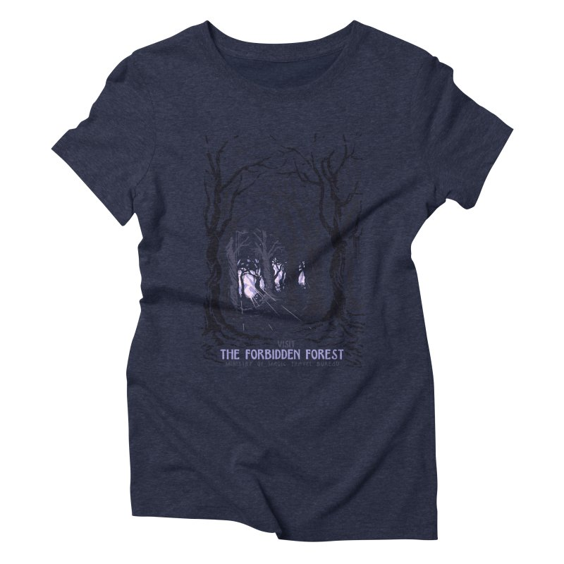 Visit The Forbidden Forest Women's Triblend T-Shirt by mathiole