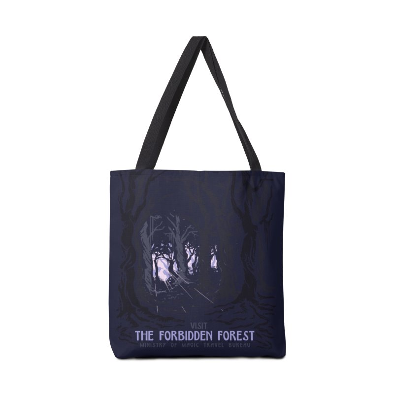 Visit The Forbidden Forest Accessories Bag by mathiole