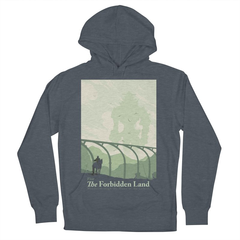 Visit The Forbidden Land Men's French Terry Pullover Hoody by mathiole