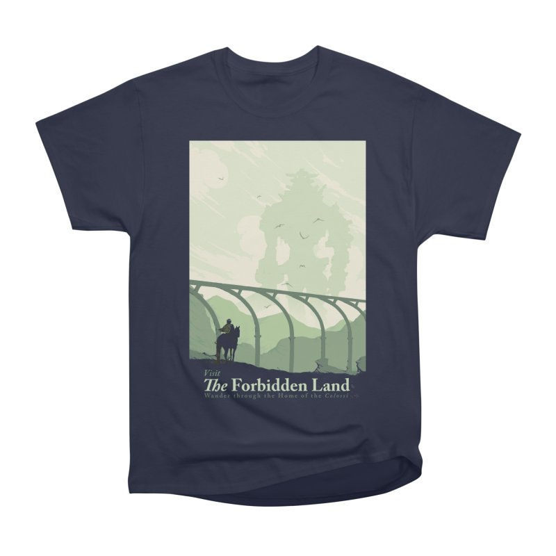 Visit The Forbidden Land Men's Heavyweight T-Shirt by mathiole