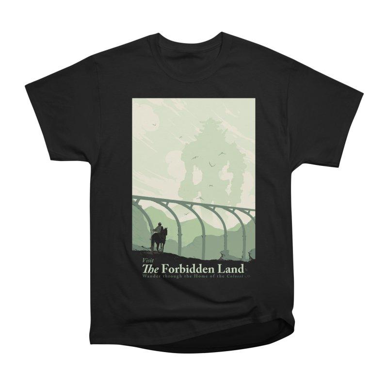 Visit The Forbidden Land Men's Heavyweight T-Shirt by mathiole