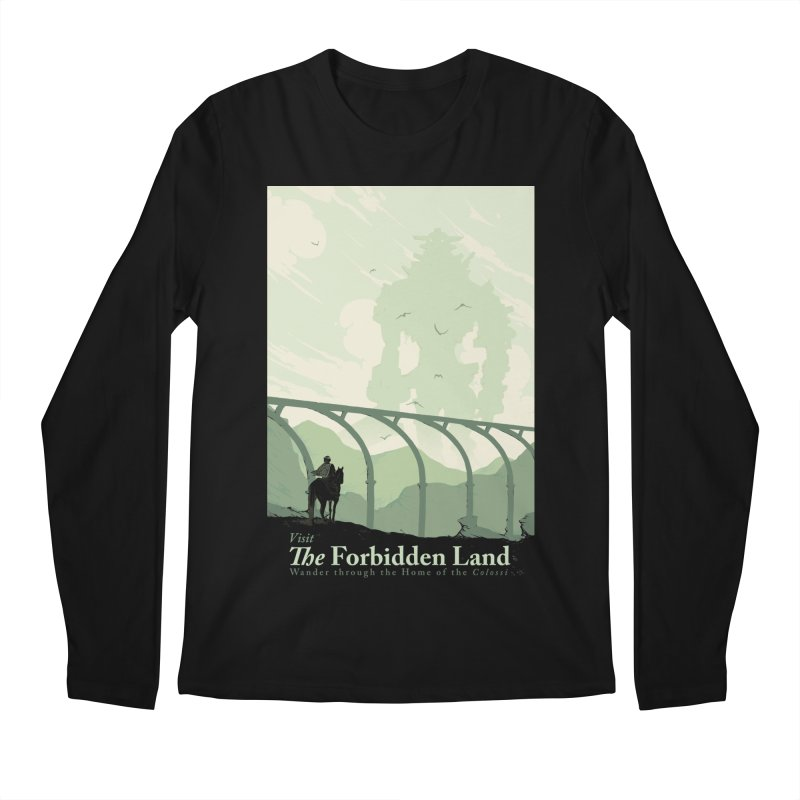 Visit The Forbidden Land Men's Regular Longsleeve T-Shirt by mathiole