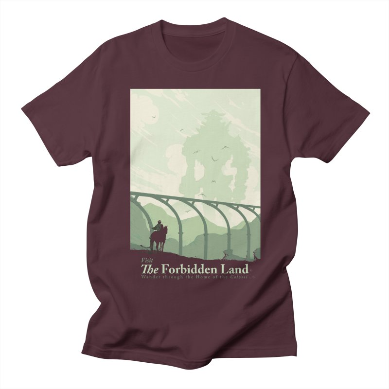 Visit The Forbidden Land Men's Regular T-Shirt by mathiole