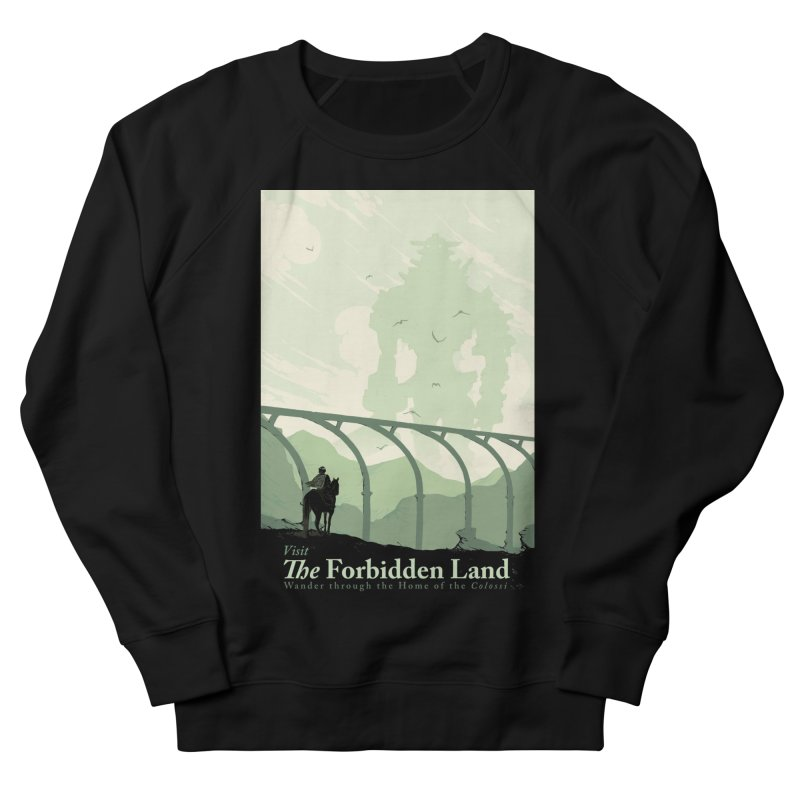 Visit The Forbidden Land Men's French Terry Sweatshirt by mathiole