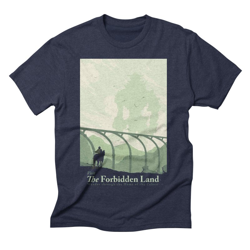 Visit The Forbidden Land Men's Triblend T-Shirt by mathiole