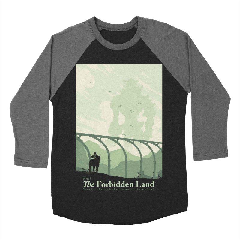 Visit The Forbidden Land Women's Baseball Triblend Longsleeve T-Shirt by mathiole
