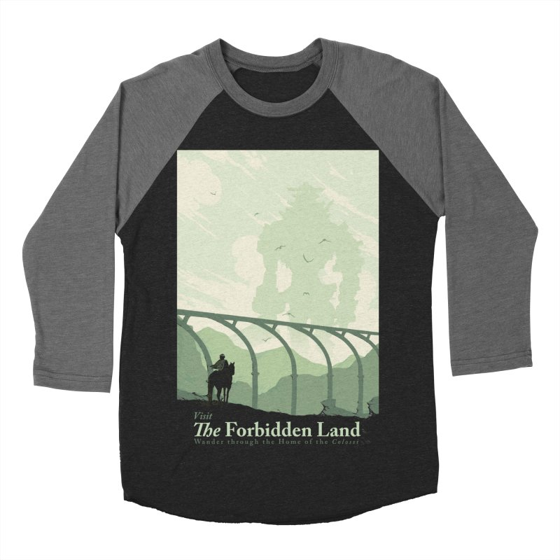 Visit The Forbidden Land Men's Baseball Triblend Longsleeve T-Shirt by mathiole