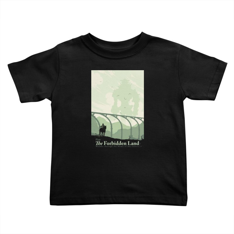 Visit The Forbidden Land Kids Toddler T-Shirt by mathiole
