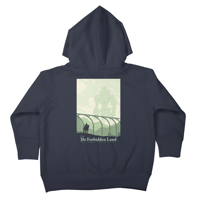 Visit The Forbidden Land Kids Toddler Zip-Up Hoody by mathiole