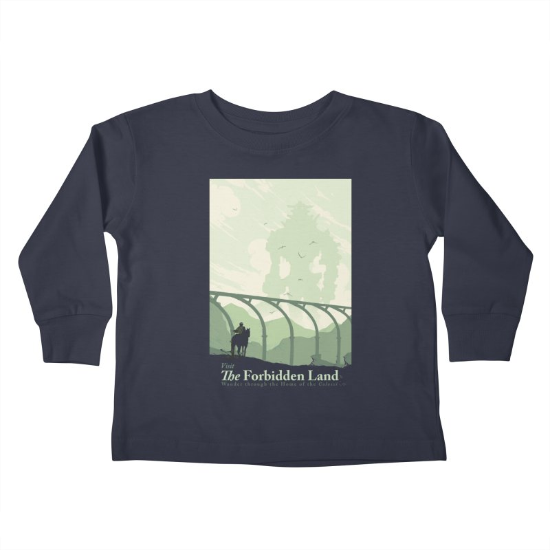 Visit The Forbidden Land Kids Toddler Longsleeve T-Shirt by mathiole