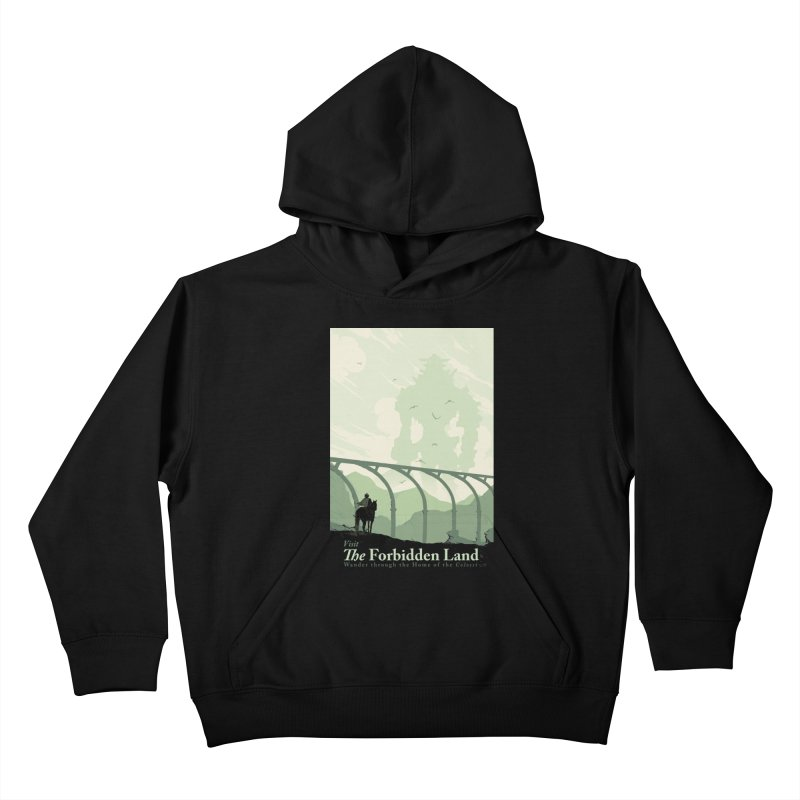 Visit The Forbidden Land Kids Pullover Hoody by mathiole