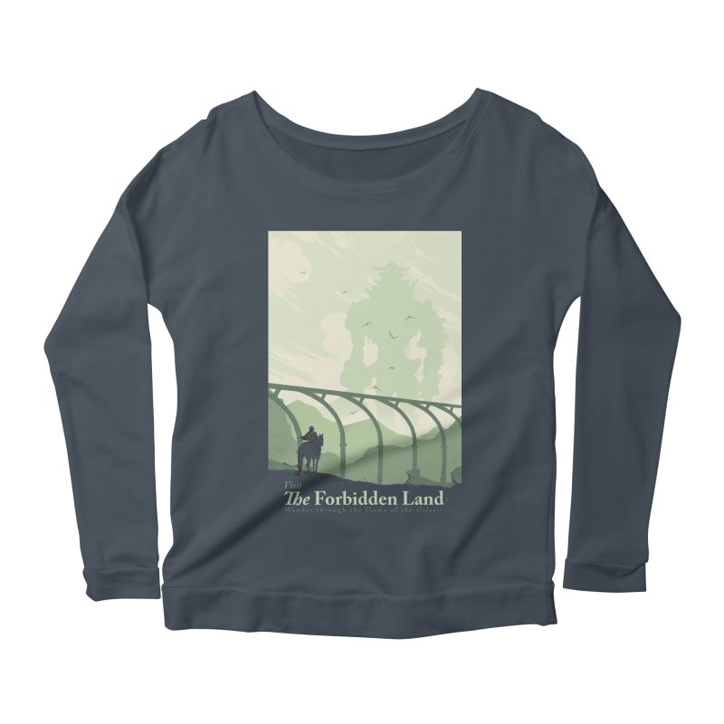 Visit The Forbidden Land Women's Scoop Neck Longsleeve T-Shirt by mathiole