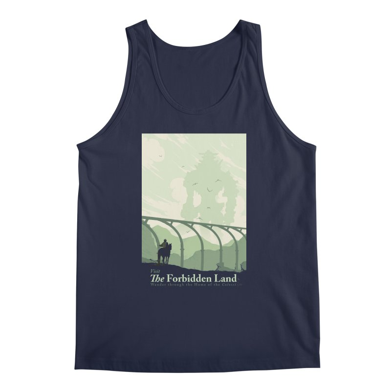 Visit The Forbidden Land Men's Regular Tank by mathiole