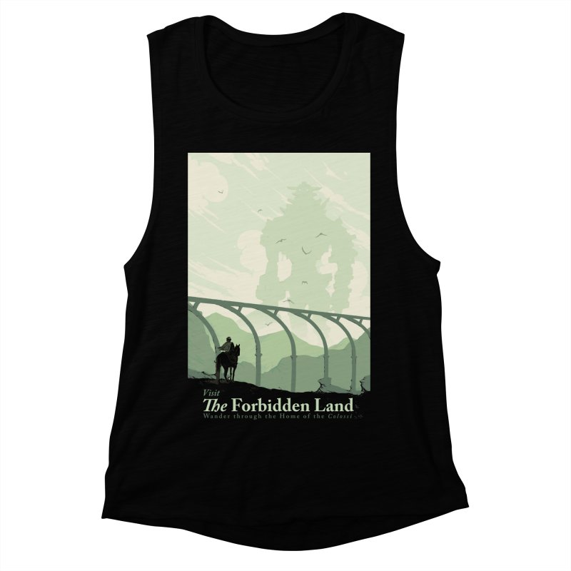 Visit The Forbidden Land Women's Muscle Tank by mathiole